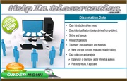 Writing the Dissertation Data for Help in Dissertation